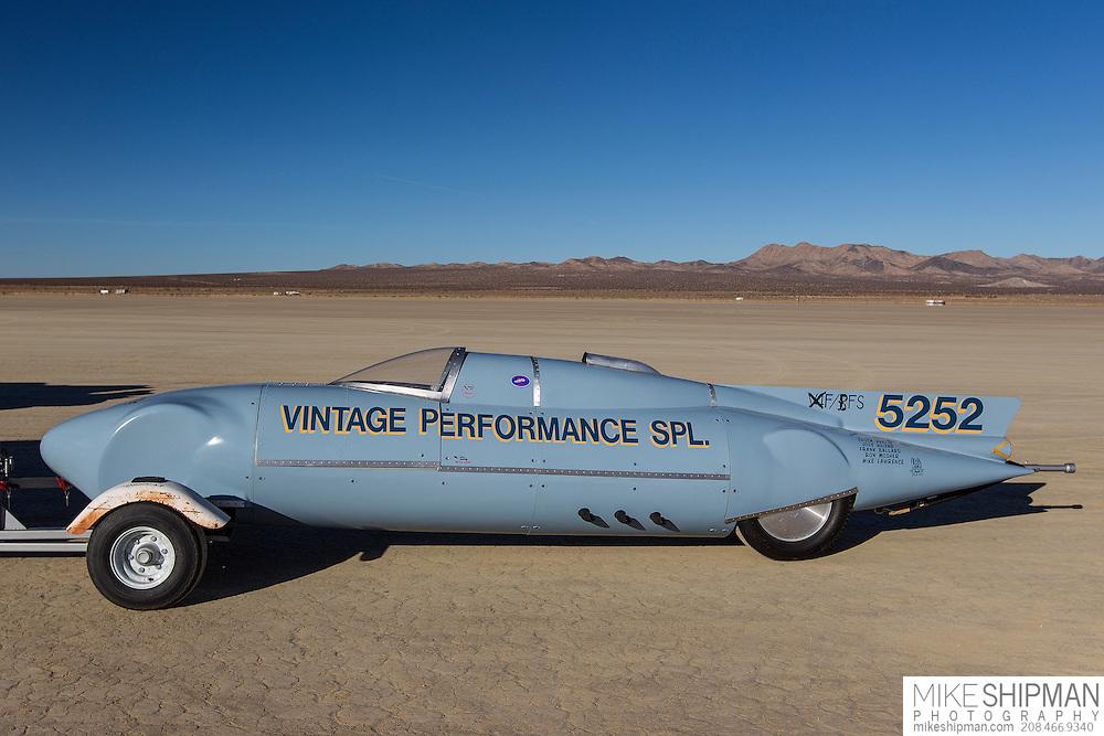 Vintage Performance Spl., 5252, eng XF, body BFS, driver Tom Evans, 190.715, record 238.937