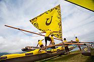 Hawaiian Outrigger Canoe Race