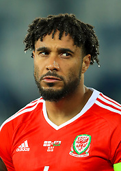 Wales' Ashley Williams during the 2018 FIFA World Cup Qualifying, Group D match at the Boris Paichadze Dinamo Arena, Tbilisi. PRESS ASSOCIATION Photo. Picture date: Friday October 6, 2017. See PA story SOCCER Georgia. Photo credit should read: Tim Goode/PA Wire. RESTRICTIONS: Editorial use only, No commercial use without prior permission.