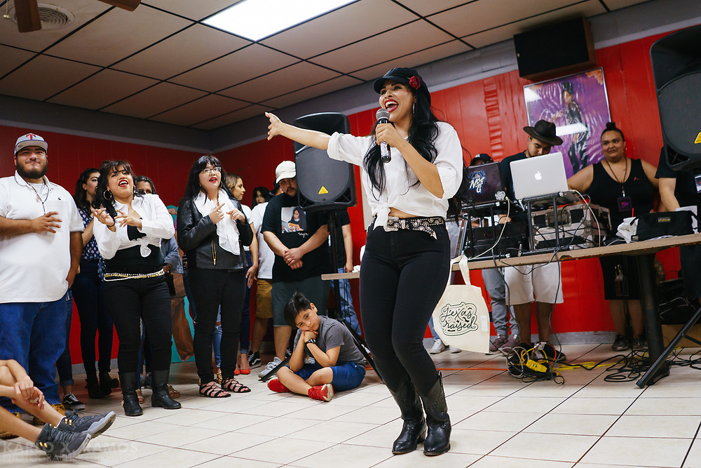Scenes from 214 Selena at Country Burger Oak Cliff, TX