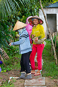 My An Hung, Farming village, Mekong River, Vietnam, Asia