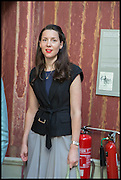 VICTORIA SIDDALL, Drinks party to launch this year's Frieze Masters.Hosted by Charles Saumarez Smith and Victoria Siddall<br />  Academicians' room - The Keepers House. Royal Academy. Piccadilly. London. 3 July 2014