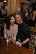 INNA O'NEILL; STEPHEN O'NEILL, Cahoots club launch party, 13 Kingly Court, London, W1B 5PW  26 February 2015