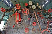 Kościerzyna, 2011-07-06. Maszynownia starej lokomotywy, Muzeum Kolejnictwa w Kościerzynie, dawny Skansen Parowozownia Kościerzyna
