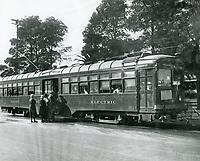 1928 Streetcar on Hollywood Blvd.