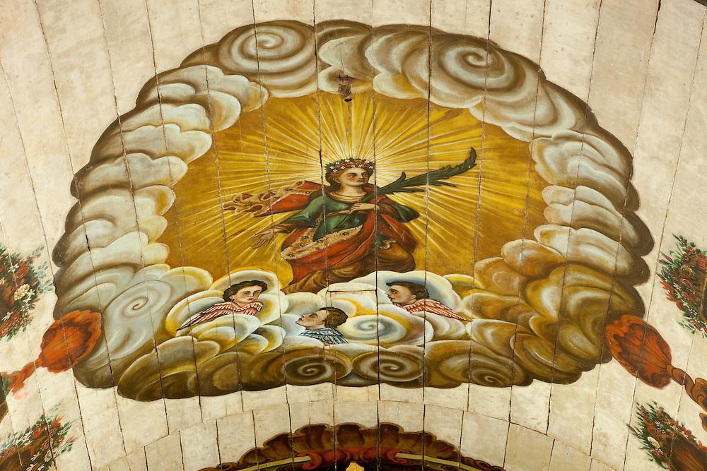 Santa Luzia_MG, Brasil...Interior da Matriz de Santa Luzia, datada do SEC XVIII, Minas Gerais...The Santa Luzia mother church in Santa Luzia Minas Gerais...Foto: LEO DRUMOND / NITRO