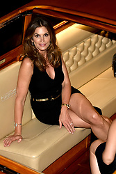 Cindy Crawford is seen at the San Benedetto's party in Venice, Italy. 15 Jun 2017 Pictured: Cindy Crawford. Photo credit: M. Angeles Salvador/MEGA TheMegaAgency.com +1 888 505 6342