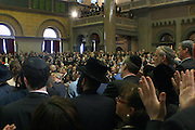 The audience at the Swearing-in of the Honorable David A. Patterson at the 55th Governor of New York  at The New York State Capitol in the Assembly Chambers on March 17, 2008