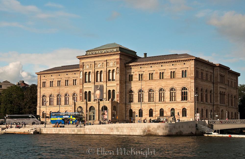 National Museum on the Southern SIde of Blasieholmen in Stockholm, Sweden