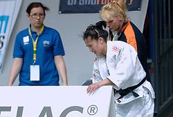 27-05-2006 JUDO: EUROPEES KAMPIOENSCHAP: TAMPERE FINLAND<br /> Dani Libosan had een zware loting met in haar eerste partij tegen Harel (FRA). Ze kwam in de herkansingen terecht, en verloor van de Finse Koivimaki<br /> ©2006-WWW.FOTOHOOGENDOORN.NL