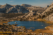 Vogelsang Lake, Yosemite National Park, California