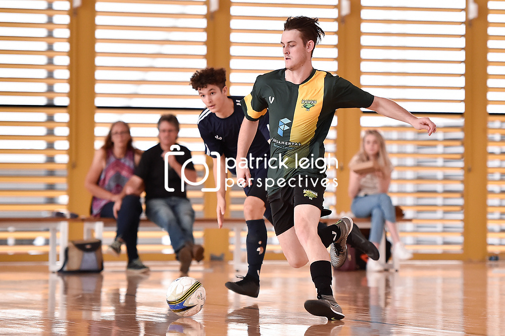 BRISBANE, AUSTRALIA - OCTOBER 4:  during the Southern Cross Futsal League Pacific Conference Round 4 matches at Gold Coast Sports Centre on October 25, 2020 in Brisbane, Australia. (Photo by Patrick Kearney)