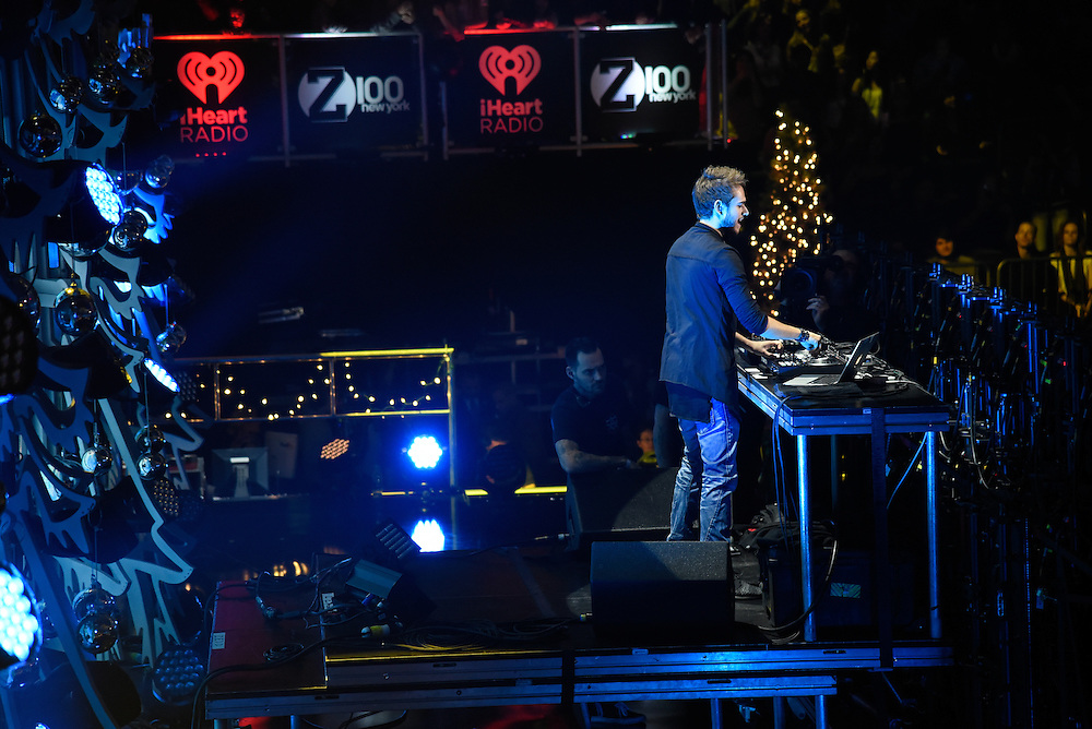 Photos of Zedd performing live at iHeartRadio Jingle Ball 2015, hosted by Z100 New York at Madison Square Garden, NYC on December 11, 2015. © Matthew Eisman/ iHeartRadio. All Rights Reserved