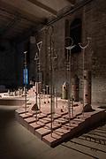 Venice, Biennale Architettura: Arsenale, Variation on birds cage