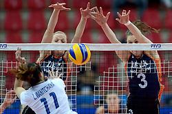 24-09-2014 ITA: World Championship Volleyball Thailand - Nederland, Verona<br /> Judith Pietersen, Yvon Beliën