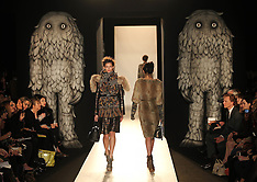 Mulberry A/W 2012 show at London Fashion Week