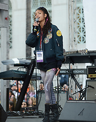 MARCH FOR OUR LIVES, protesting gun violence in schools - Los Angeles. 24 Mar 2018 Pictured: Willow Smith. Photo credit: MEGA TheMegaAgency.com +1 888 505 6342