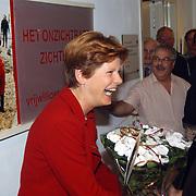 Expositie opening Huizer Museum vrijwilligerswerk door Maartje van Weegen