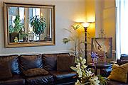 Northcentral Pennsylvania, Lobby Gennetti Hotel, downtown Williamsport, PA