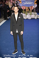 Omer Hazan  at the 'Onward' film premiere, Curzon Mayfair, London, UK - 23 Feb 2020 photo by Brian Jordan