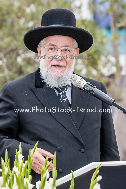 Yisrael (Israel) Meir Lau born 1 June 1937 in Piotrkow Trybunalski, Poland) is the Chief Rabbi of Tel Aviv, Israel, and Chairman of Yad Vashem. He previously served as the Ashkenazi Chief Rabbi of Israel from 1993 to 2003.