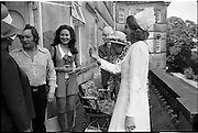 15/07/1972<br /> 07/15/1972<br /> 15 July 1972<br /> Muhammad Ali at Stewarts Hospital Fete, Palmerstown, Dublin. Some of the crowd that came to see the great boxer.