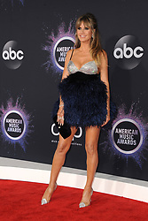 Heidi Klum at the 2019 American Music Awards held at the Microsoft Theater in Los Angeles, USA on November 24, 2019.