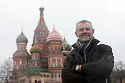 Moscow, Russia, 24/11/2010..Wilfried Vincx of Praxair on Red Square.