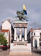 Statue of Vercingétorix at Place de Jaude, Clermont-Ferrand, France