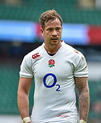 England fly-half Danny Cipriani (Sale Sharks) during the International Rugby Union match England XV -V- Barbarians at Twickenham Stadium, London, Greater London, England on May  31  2015. (Steve Flynn/Image of Sport)