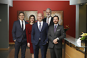 SHOT 1/8/19 12:25:13 PM - Bachus & Schanker LLC lawyers James Olsen, Maaren Johnson, J. Kyle Bachus, Darin Schanker and Andrew Quisenberry in their downtown Denver, Co. offices. The law firm specializes in car accidents, personal injury cases, consumer rights, class action suits and much more. (Photo by Marc Piscotty / © 2018)