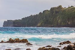 View From Laupãhoehoe Beach Park