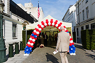 Brussels Belgium 21 June 2017. Independance day celebration at the US embassy Brussels organized by the US mission to the EU