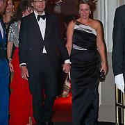 NLD/Amsterdam/20110527 - 40ste verjaardag Prinses Maxima, Prins Bernard en Prinses Annette van Vollenhoven