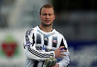 Fotball<br /> Førstedivisjon<br /> 20.06.2004<br /> Pors Grenland v Vard Haugesund 5-2<br /> Foto: Morten Olsen, Digitalsport<br /> <br /> Espen Skistad - keeper Vard