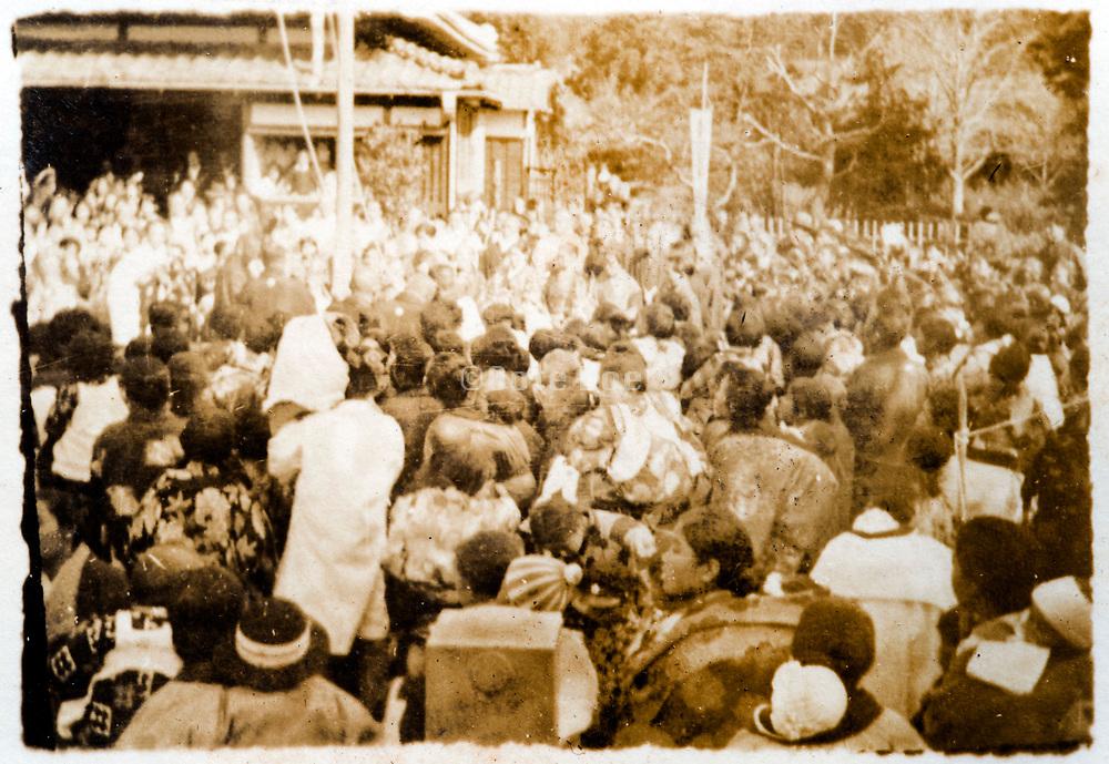 village festival Japan ca 1930s
