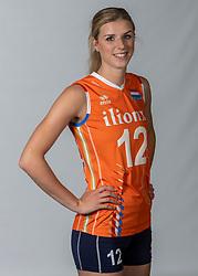 10-05-2018 NED: Team shoot Dutch volleyball team women, Arnhem<br /> Britt Bongaerts #12 of Netherlands