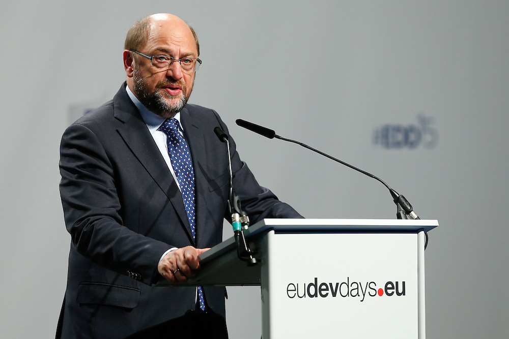 03 June 2015 - Belgium - Brussels - European Development Days - EDD - Opening Ceremony - Our World , our dignity , our future - Martin Schulz , President of the European Parliament © European Union