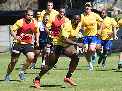 Cape Town-180911- Western Province players Michael Kumbirai  during a training session at the Bellville HPC .Photographs:Phando Jikelo/African News Agency/ANA