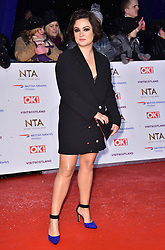 Fiona O'Carroll attending the National Television Awards 2019 held at the O2 Arena, London.
