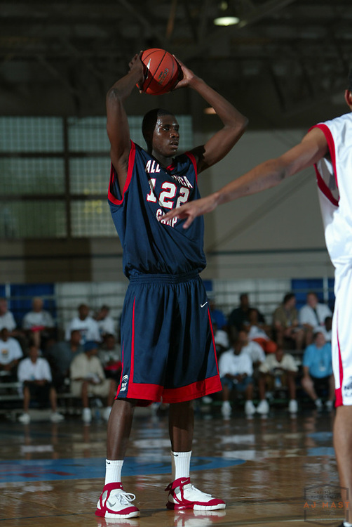 Veron Macklin (122) at the Nike All American basketball camp in Indianapolis,Wednesday, July 6, 2005. (Mandatory Credit: AJ Mast/Ronin Images)......***LOW RES FPO ONLY, HIGH RES AVLAIBLE OFFLINE***