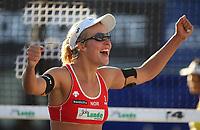 Volleyball Sandvolleyball Beachvolleyball<br />Swatch FIVB World Tour Conoco Phillips Grand Slam<br />Stavanger 270608<br />Foto: Sigbjørn Andreas Hofsmo, Digitalsport<br /><br /> Ingrid Torlen Tørlen
