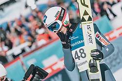 15.02.2020, Kulm, Bad Mitterndorf, AUT, FIS Ski Flug Weltcup, Kulm, Herren, im Bild Kamil Stoch (POL) // Kamil Stoch of Poland during his Jump for the men's FIS Ski Flying World Cup at the Kulm in Bad Mitterndorf, Austria on 2020/02/15. EXPA Pictures © 2020, PhotoCredit: EXPA/ JFK