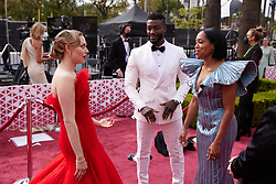Oscar® nominee Amanda Seyfried (L), Regina King (R) and guest arrive on the red carpet of The 93rd Oscars® at Union Station in Los Angeles, CA, USA on Sunday, April 25, 2021. Photo by A.M.P.A.S. via ABACAPRESS.COM on Sunday, April 25, 2021.