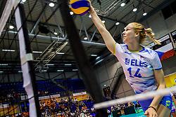 23-08-2017 NED: World Qualifications Greece - Slovenia, Rotterdam<br /> Lana Scuka #14 of Slovenia<br /> Photo by Ronald Hoogendoorn / Sportida
