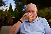 Dad Drinking Whiskey