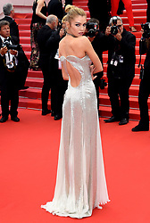 Stella Maxwell attending the Sorry Angel Premiere as part of the 71st Cannes Film Festival