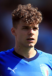 Italy U17's Edorado Vergani during the UEFA European U17 Championship, Group A match at Banks's Stadium, Walsall. PRESS ASSOCIATION Photo. Picture date: Monday May 7, 2018. See PA story SOCCER England U17. Photo credit should read: Mike Egerton/PA Wire. RESTRICTIONS: Editorial use only. No commercial use.