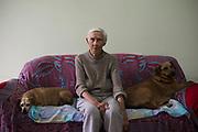 Eugenie Belser, antigua habitante de Guaíba. Ella recuerda con cariño los tiempos de que su barrio era un lugar hermoso para vivir.