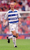 Karl Ready - QPR. Crystal Palace v Queens Park Rangers. Football League Division One, 20/08/2000. Credit: Colorsport / Matthew Impey.
